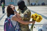 """Батальон """"Азов"""" отправил в зону АТО новобранцев"""