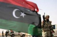 Сгорел склад оружия ливийских повстанцев