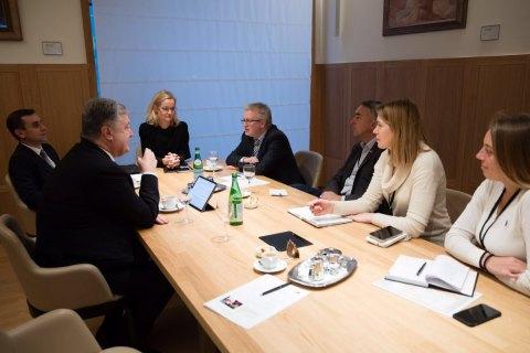 Порошенко: Україна повинна дотримуватися євроінтеграційного вектора