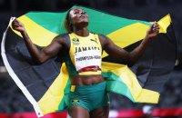 На Олімпіаді-2020 у бігу на 100 метрів спортсменки однієї країни окупували весь п'єдестал