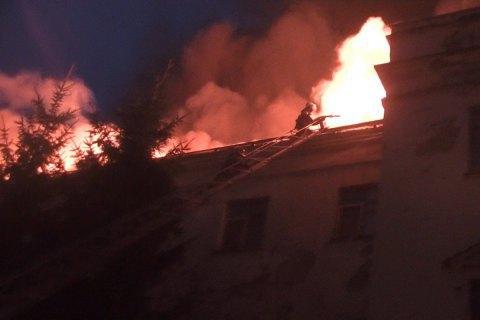 Стали відомі наслідки пожежі в апеляційному адмінсуді Харківської області