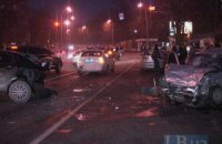 ДТП у Києві: водій у стані наркотичного сп'яніння протаранив машину ДАІ
