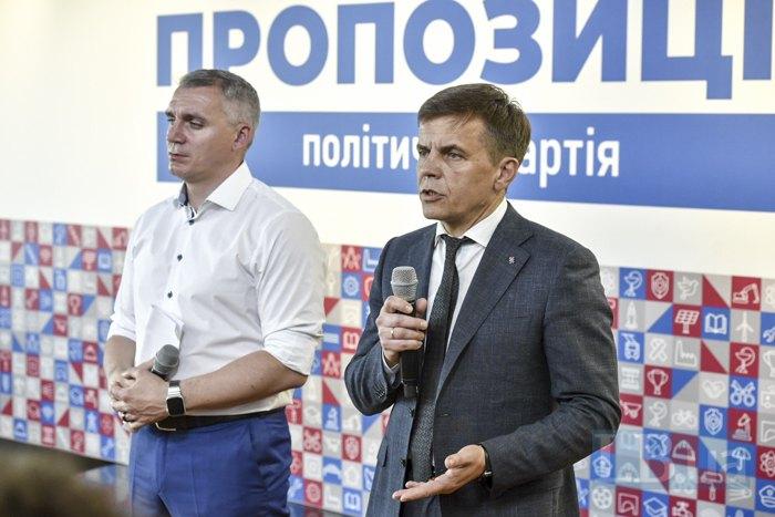 Cергей Сухомлин (справа) иАлександр Сенкевич