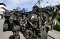 Восемь человек погибли при разграблении склада на Филиппинах