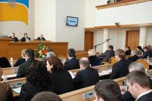 Депутати Кіровоградської облради відмовилися саморозпуститися