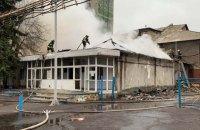 """На шахте """"Северная"""" в Донецкой области произошел масштабный пожар"""