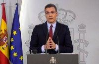 В Испании ввели режим чрезвычайного положения
