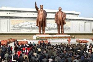 КНДР отмечает 101-й день рождения Ким Ир Сена
