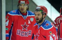 ЦСКА одержал третью победу подряд в КХЛ