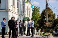 Вооруженные люди окружили здание Меджлиса в Симферополе, проводится обыск