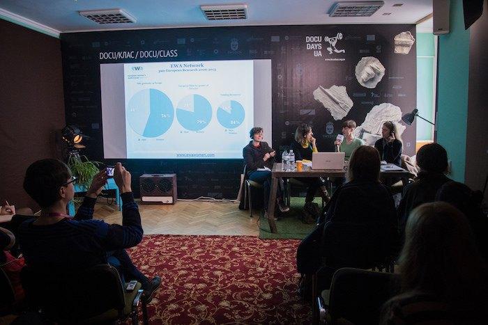 Панельна дискусія на тему «Чому жіночий погляд має значення та навіщо галузі авторки»