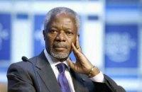 """Аннан провів """"конструктивні переговори"""" з Асадом"""