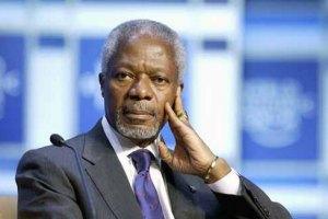 Аннан: влада Сирії повинна припинити використовувати важке озброєння
