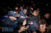 На месте скандального строительства на ул. Ревуцкого в Киеве произошла массовая драка (обновлено)