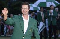 Гольф. Скотт добыл первый зеленый пиджак для Зеленого фаворита
