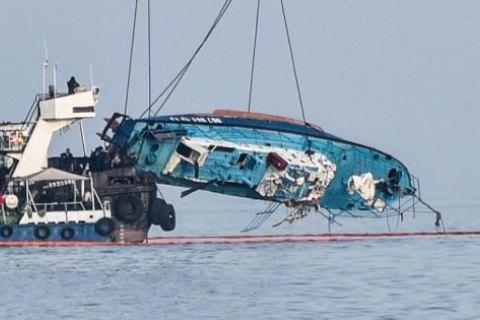 Спасатели нашли еще одно тело в районе крушения катера в Затоке