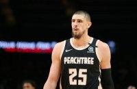 Украинец Лень провел дебютный матч в НБА за свою новую команду