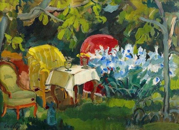 Куточок саду.1920-1930-ті.