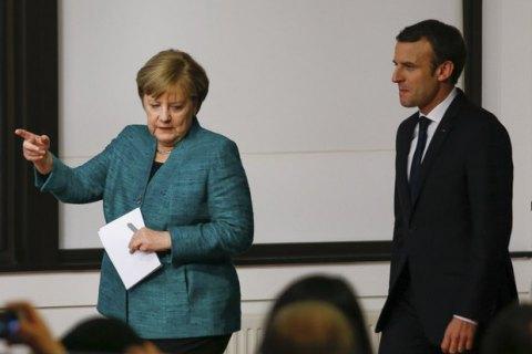 Франція та Німеччина побачили позитивні зрушення в реалізації Мінських угод