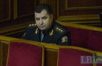 Министр обороны отметил необычное затишье в зоне АТО
