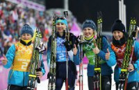 Биатлонистки премиальных за медали в Сочи еще не получили