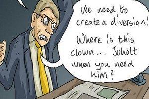 Министр иностранных дел Швеции стал героем комиксов