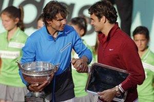 Надаль: по цифрам Федерер - лучший игрок в истории
