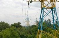 В Донецкой области без света остаются 54 населенных пункта
