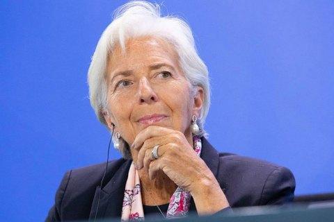 Голова ЄЦБ: Європі загрожує економічний шок через коронавірус