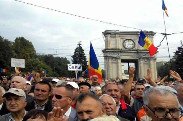 молдова, кишинев, протесты