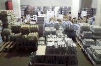 В Донецкой области изъяли контрафактный алкоголь на 27,5 млн грн