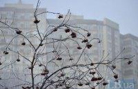 В четверг в Киеве до +4 градусов