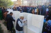 В день выборов в Афганистане на участках произошло 15 взрывов
