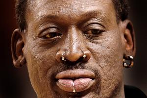 Відомого баскетболіста Денніса Родмана не пустили у московський виш