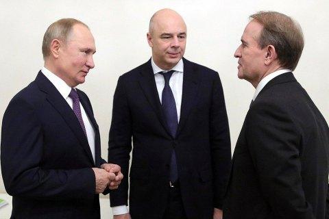 """Медведчук приехал к Путину с идеей переговоров в """"нормандском формате"""" на уровне парламентов"""