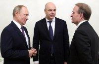 Медведчук приїхав до Путіна з ідеєю переговорів у нормандському форматі на рівні парламентів