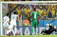 Греция впервые вышла в плей-офф ЧМ