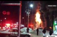 В Японии 11 человек погибли при пожаре в доме престарелых