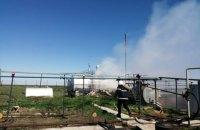 В Николаевской области при пожаре цистерны с мазутом пострадали 5 человек