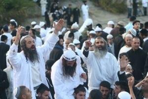 В Умань приехало более двух тысяч хасидов