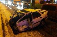 В Харькове столкнулись семь машин, есть пострадавшие