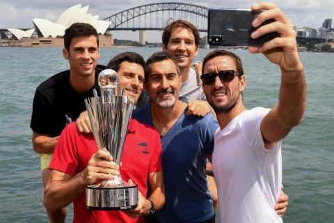 Збірна Сербії стала історичним першим чемпіоном ATP Cup