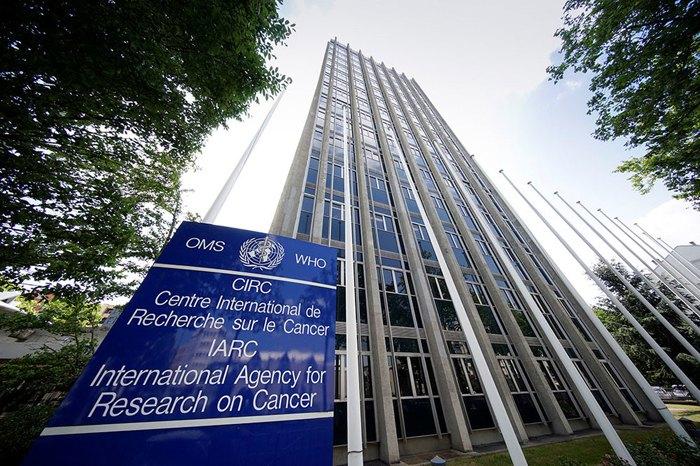 Штаб-квартира Международного агентства по изучению рака, Лион, Франция