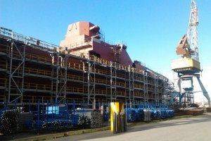 У Росії без українських турбін застопорилося будівництво фрегатів