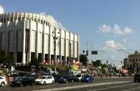 Акция в защиту украинского языка. Украинский дом (ФОТО)