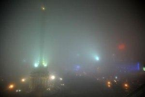 ГАИ предупреждает водителей о сильном тумане