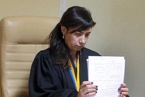 Суддю Печерського райсуду Ларису Цокол відсторонили від правосуддя