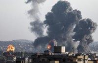 Ізраїль розбомбив збройний цех ХАМАС у Секторі Гази
