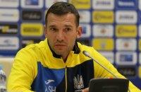 Андрей Шевченко обратился к футболистам с речью после победы над Чехией