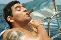 Марадона госпитализирован с кровотечением в желудке